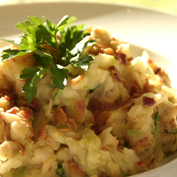 """Recipe Colcannon with Premium Soy Sauce"
