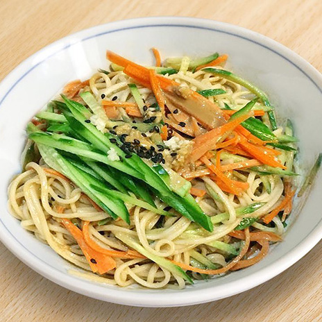 Recipe Cold Noodles with Sesame Sauce S