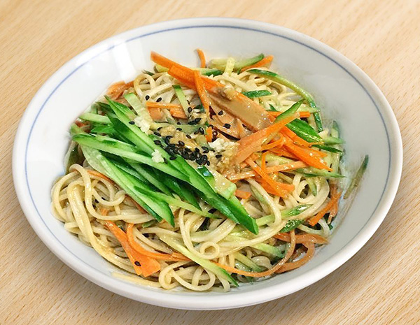 Recipe Cold Noodles with Sesame Sauce