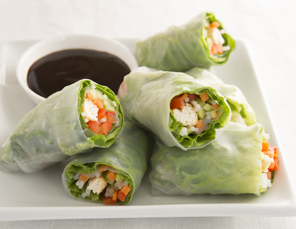 Recipe Cold Vieetnamese Spring Roll