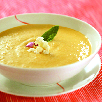 Recipe Creamy Vegetable Soup with Lee Kum Kee Premium Oyster Flavored Sauce S