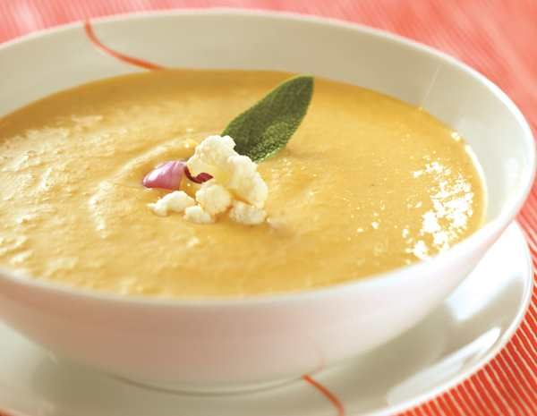 Recipe Creamy Vegetable Soup with Lee Kum Kee Premium Oyster Flavored Sauce