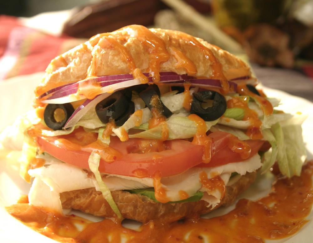 Recipe Croissant Turkey Sandwich
