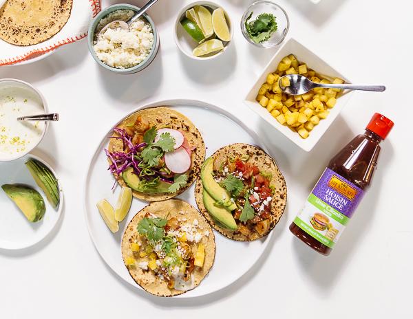 Recipe DIY Shirmp Taco Bar