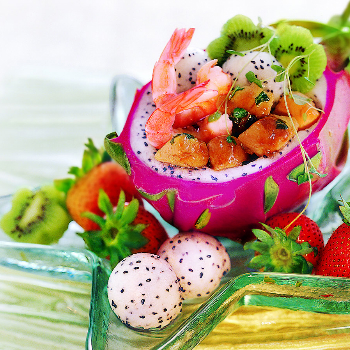 Recipe Dragon Fruit Boat