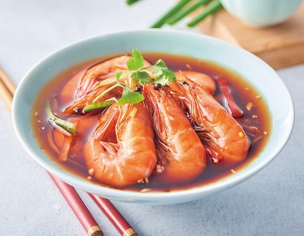 Recipe Drunken Shrimp