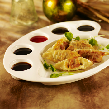 Recipe Dumplings with Dipping Sauce S