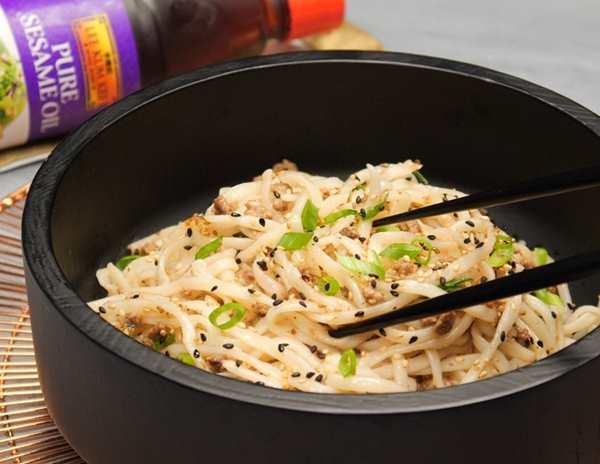 Recipe Easy Cold Sesame Noodles