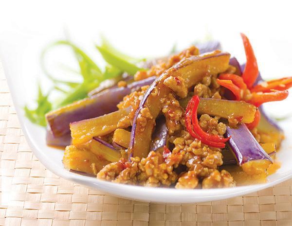 Recipe Eggplant in Spicy Garlic Sauce