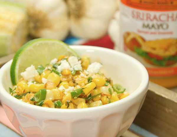 Recipe Esquites with Lee Kum Kee Sriracha Mayo