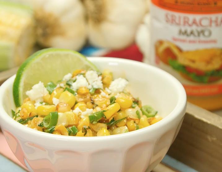 Recipe Esquites with Lee Kum Kee Sriracha Mayo