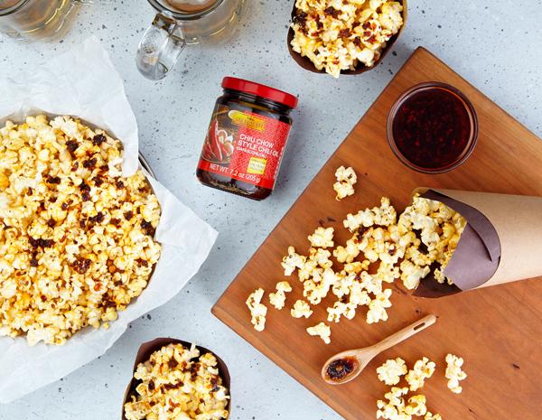 Recipe for Chiu Chow Chili Oil Popcorn