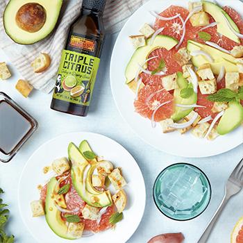 Recipe for Citrus Panzanella Salad S