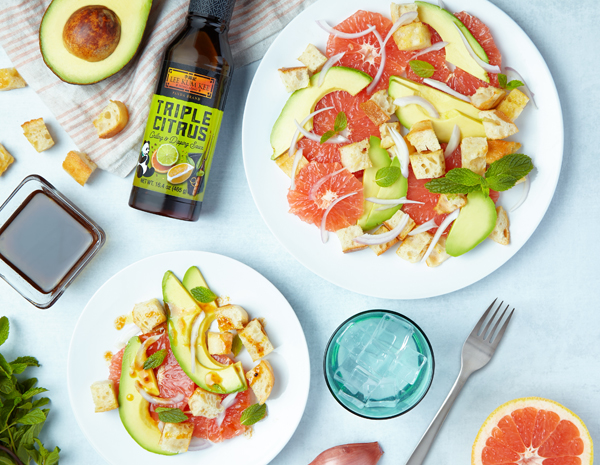 Recipe for Citrus Panzanella Salad