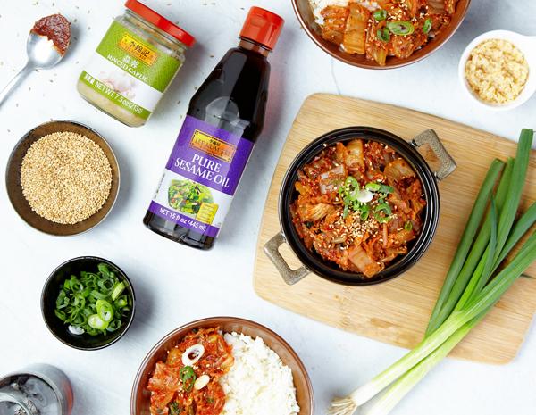 Recipe for Garlic Sesame Kimchi