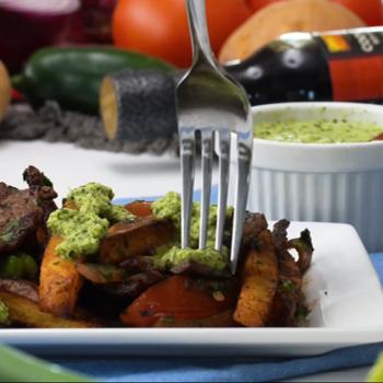 Recipe for Lomo Saltado with Aji Sauce S