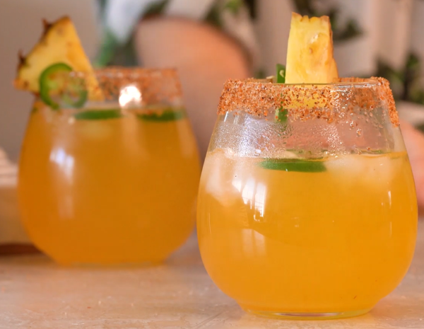 Recipe for Sweet and Spicy Margarita Cocktail