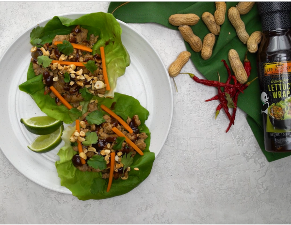 Recipe for Thai Turkey Lettuce Cups