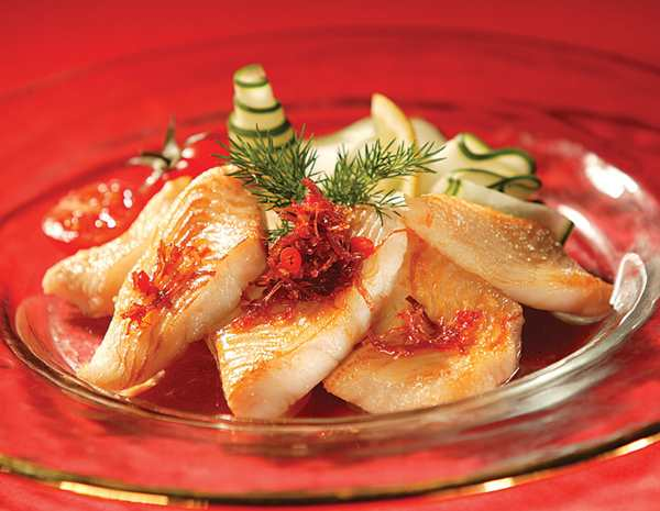 Recipe Fried Fish with XO Sauce