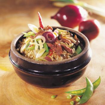 Recipe Fried Rice with Hoisin Sauce