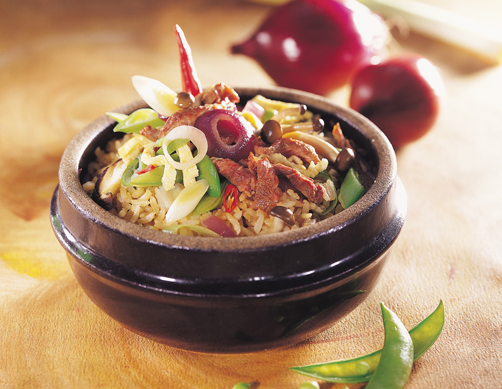 Recipe Fried Rice with Hoisin Sauce