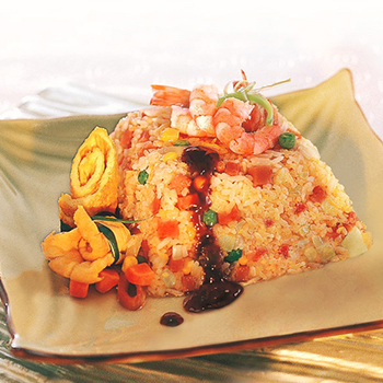 Recipe Fried Rice with Oyster Sauce S