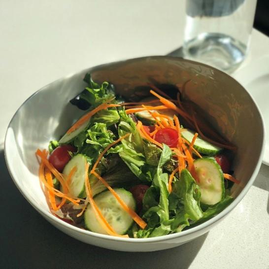 Recipe Garden Green Salad with Oyster Sesame Vinaigrette S