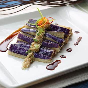 Recipe Garlic Flavored Steamed Eggplant S