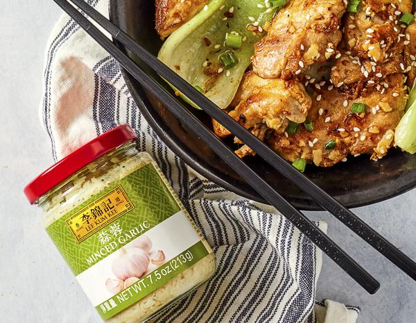 Recipe Garlic Glazed Chicken Thighs
