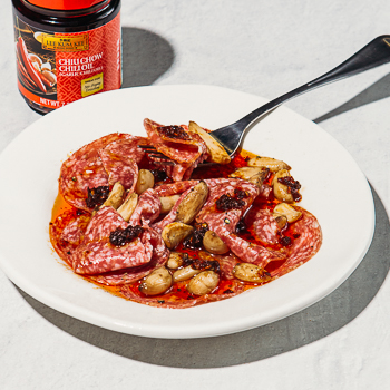 Recipe Garlic Pepper Salami Bites S