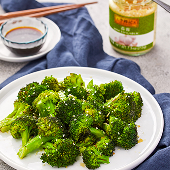 Recipe Garlic Roasted Broccoli with Soy Sauce S
