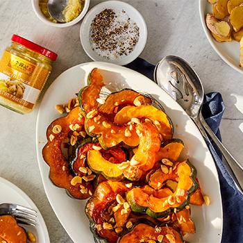 Recipe Ginger Miso Acorn Squash S
