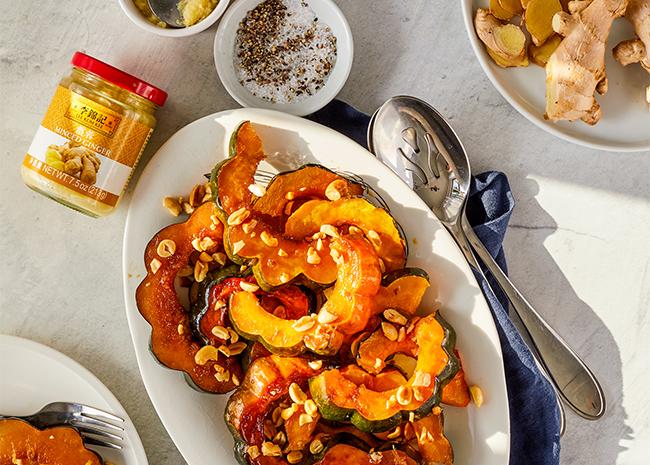 Recipe Ginger Miso Acorn Squash