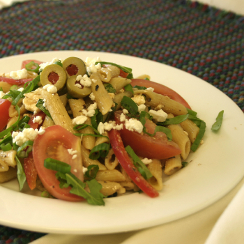 Recipe Greek Pasta with Black Bean Garlic Sauce S
