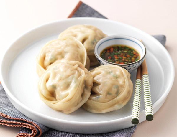 Recipe Green Bean Sprouts and Meat Dumplings