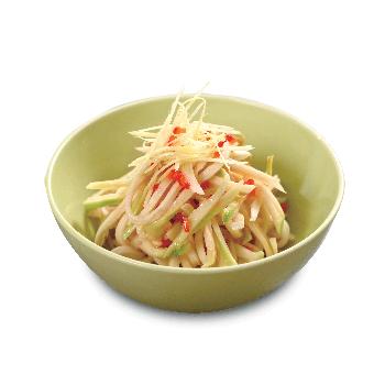 Recipe Green Papaya with Sodium Reduced Seasoned Soy Sauce S