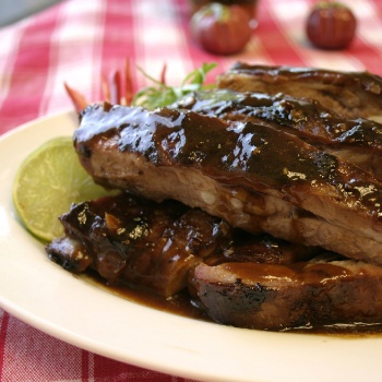 Recipe Grilled Beef Ribs with korean Barbecue Sauce S