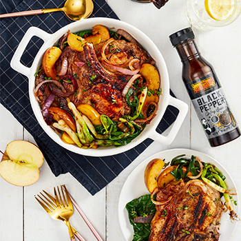 Recipe Grilled Black Pepper Pork Chops S