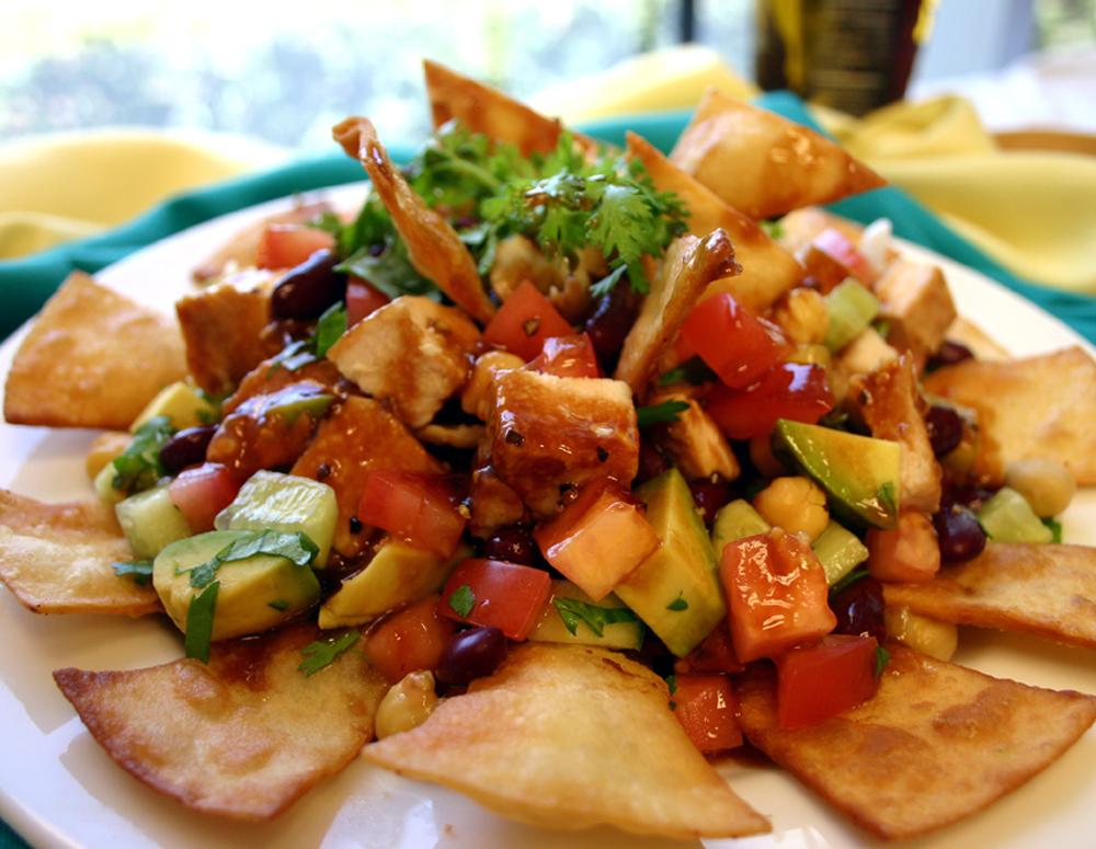 Recipe Grilled Chicken Salad Crunch