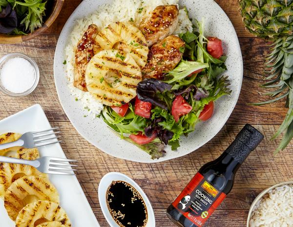 Recipe Grilled Hawaiian BBQ Chicken
