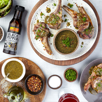 Recipe Grilled Lamb Chops with Chimichurri S