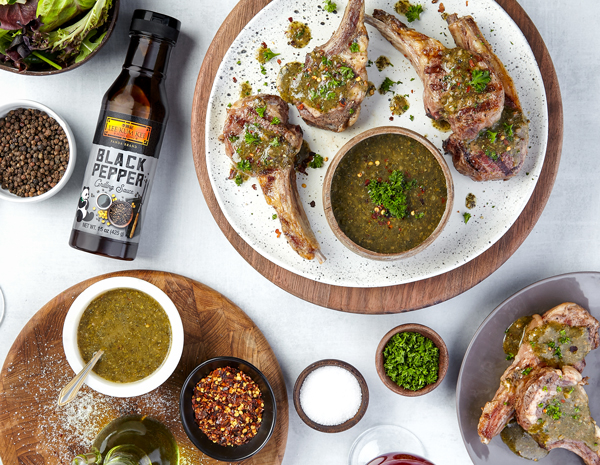 Recipe Grilled Lambchop with Chimichurri