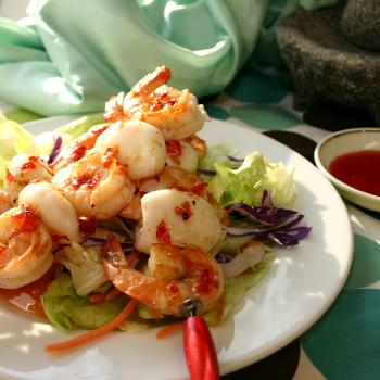 Recipe Grilled Seafood Skewers