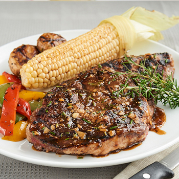 Recipe Grilled Steak with oyster Flavored Sauce S