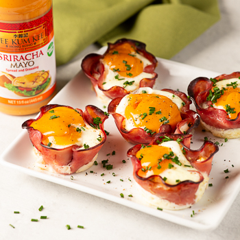 Recipe Ham & Egg Cups S