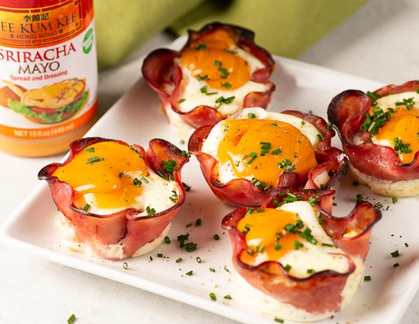 Recipe Ham & Egg Cups