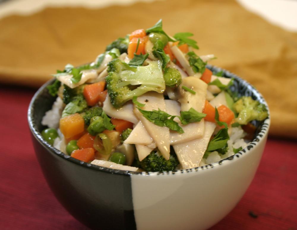 Recipe Ham and Rice Bowl
