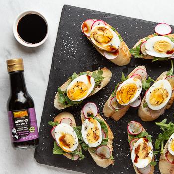 Recipe Hard Boiled Egg Crostini S Re