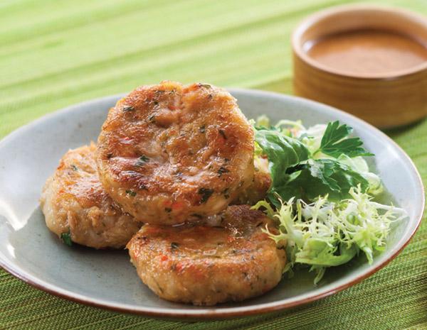 Recipe Herbed Tuna and Potato Patties