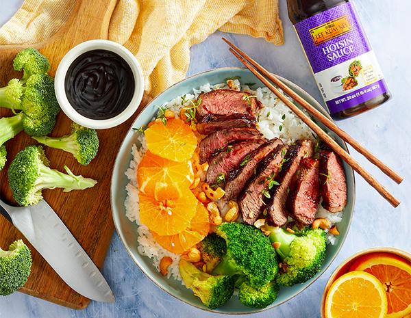 Recipe Hoisin Beef Rice Bowl